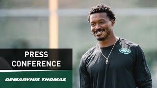 Demaryius Thomas Press Conference (9/12) | New York Jets | NFL