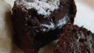 Chocolate Lava Cake 2 - Molten Chocolate Love