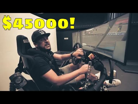 Repeat This Is A $15,000 Home Racing Simulator by Troy