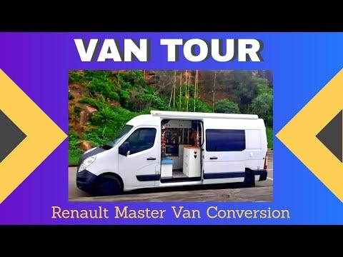 Van Tour Renault Master Van Conversion