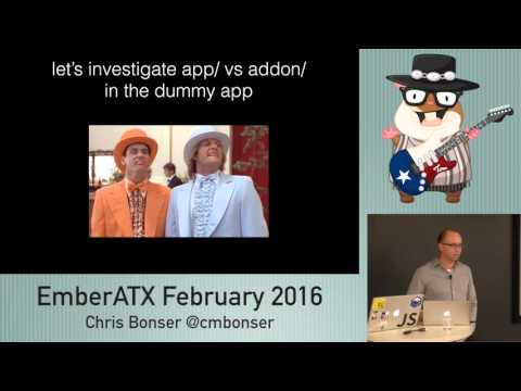 Chris Bonser: Fun with Ember Addons