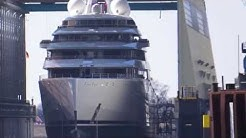 Grösste Yacht der Welt - Azzam - Largest Yacht of the World - Lürssen Werft