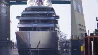 Grösste Yacht der Welt - Azzam - Largest Yacht of the World - Lürssen Werft
