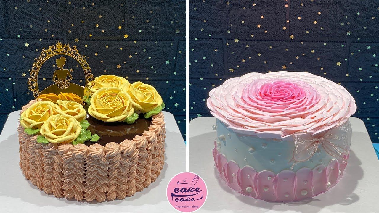 Oddly Satifying Cake Decorating Ideas | Beutifu Cake Decorate Compilation | So Tasty Cake Recipe