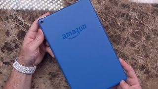 2017 Amazon Fire HD 10 Unboxing and Hands On