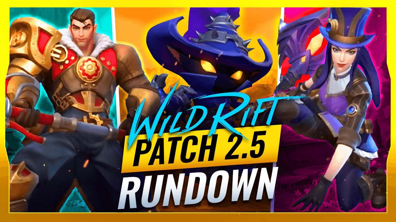 Download MASSIVE CHANGES - Patch 2.5 ALL BUFFS & NERFS (Veigar Release) - Wild Rift (LoL Mobile)