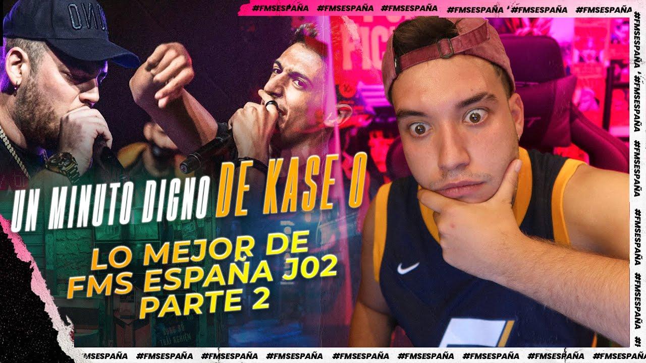 😳¿KASE O EN FMS ESPAÑA?😳 ¡¡¡MINUTO ÉPICO DE MNAK!!!  MEJORES RIMAS JORNADA 2 PARTE 2
