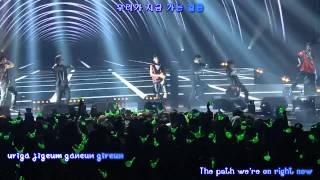 B.A.P - Hurricane LIVE II [eng sub / roman / hangul]