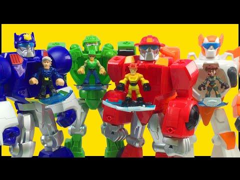 Play Skool Heroes Transformers Rescue Bots...