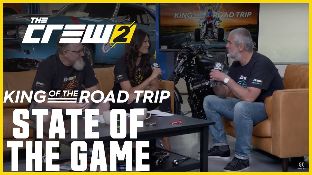 The Crew 2: LIVESTREAM - King of the Road Trip - State of the Game | Ubisoft [NA]