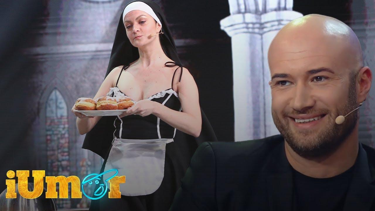 """Măicuța Magdalena Chihaia, show la iUmor: """"Iisus nu avea cum să se nască în România"""""""