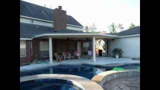 Houston Patio Covers Next To Pools