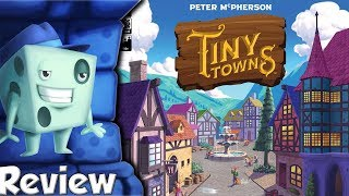 Tiny Towns Review - with Tom Vasel