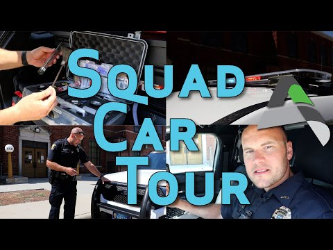Squad Car Tour