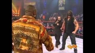 Monty Brown and Abyss In Ring Confrontation