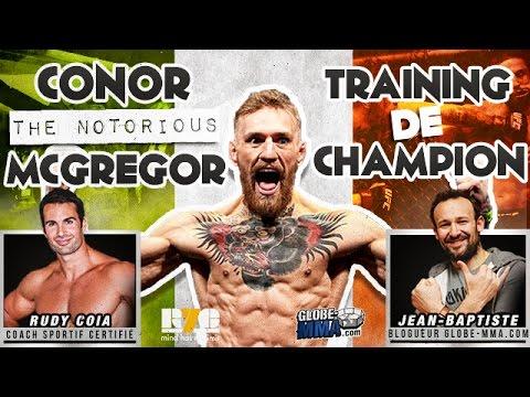 CONOR McGREGOR: Training de Champion ! L'analyse de Rudy Coia