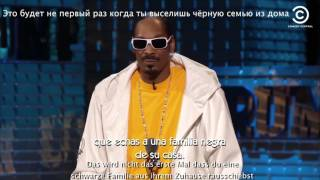 Snoop Dogg joke about Trump Перевод Снуп Дог о Трампе Snoop Dogg über Trump Russian German Spanish