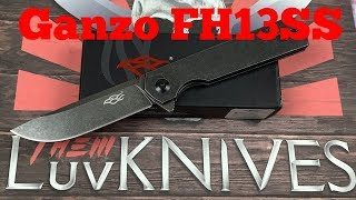 Ganzo Firebird FH13SS framelock flipper Knife   Another great Ganzo with D2 steel blade !