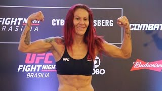 UFC Fight Night 95 Weigh-Ins: Cris Cyborg Makes Weight