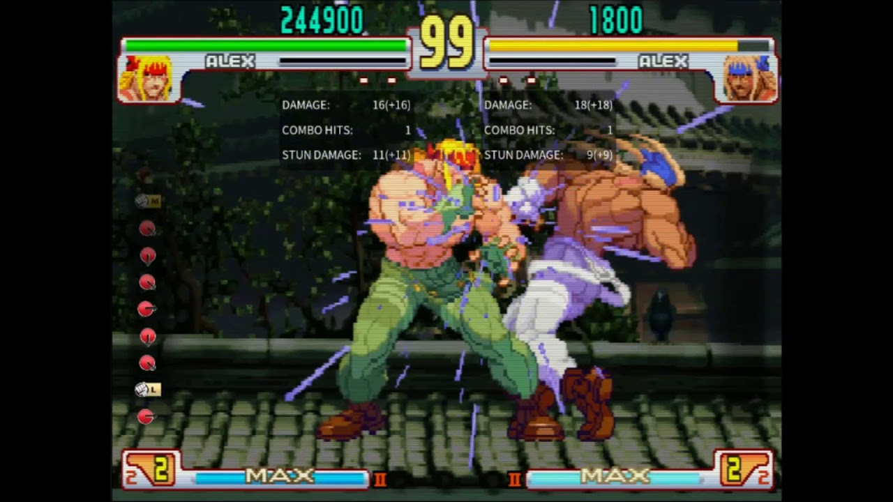 Street Fighter III: 3rd Strike tutorial — Alex bread-and-butter