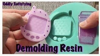 Demolding Resin Pieces