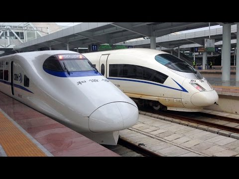 Guangzhou - Nanning by High-Speed Train in First Class, China
