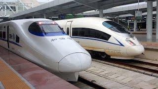 Guangzhou - Nanning by High-Speed Train in First Class, China
