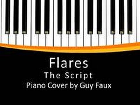 Flares The Script Easy Piano Cover By Guy Faux Youtube