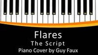 Flares | The Script || Easy Piano Cover by Guy Faux