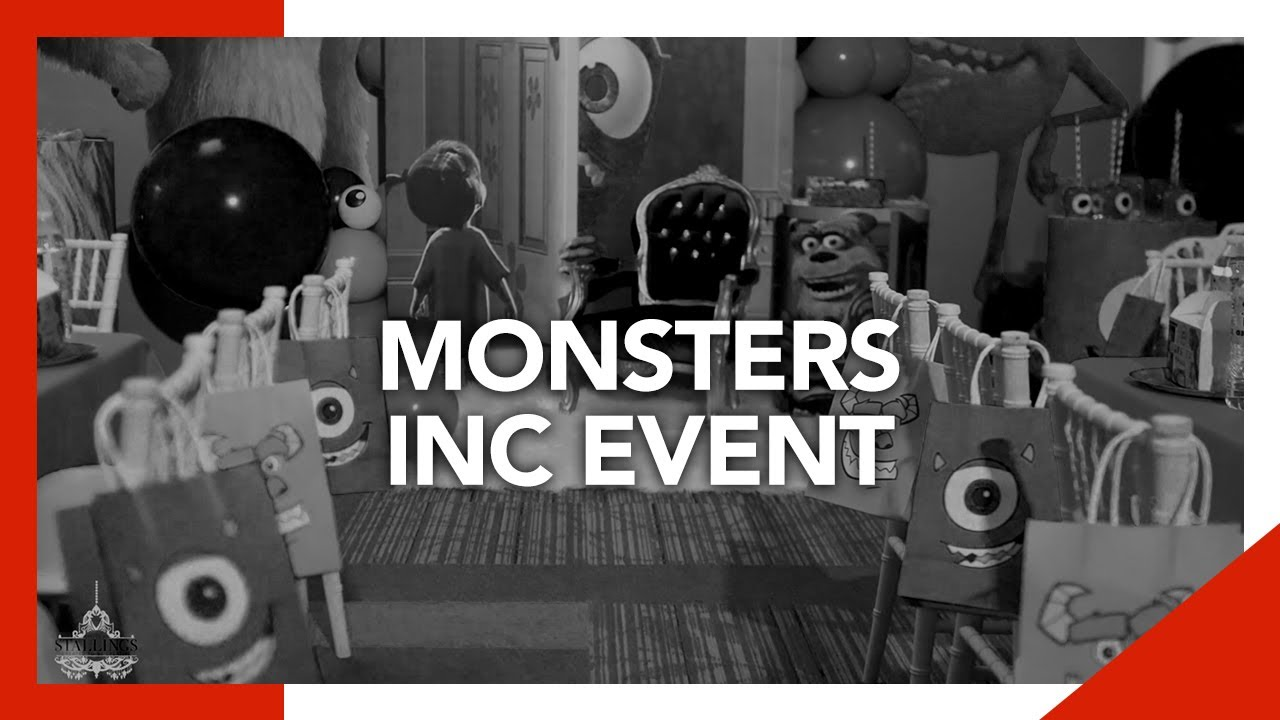 Remember Monsters Inc?   Styles By Stallings Kids Event Decor