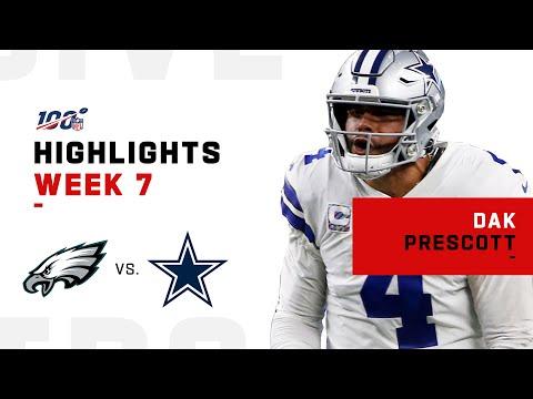 Dak Prescott Grabs Control of NFC East | NFL 2019 Highlights