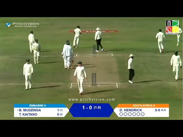 Zimbabwe A vs South Africa A | 1st Unofficial Test | Day 1