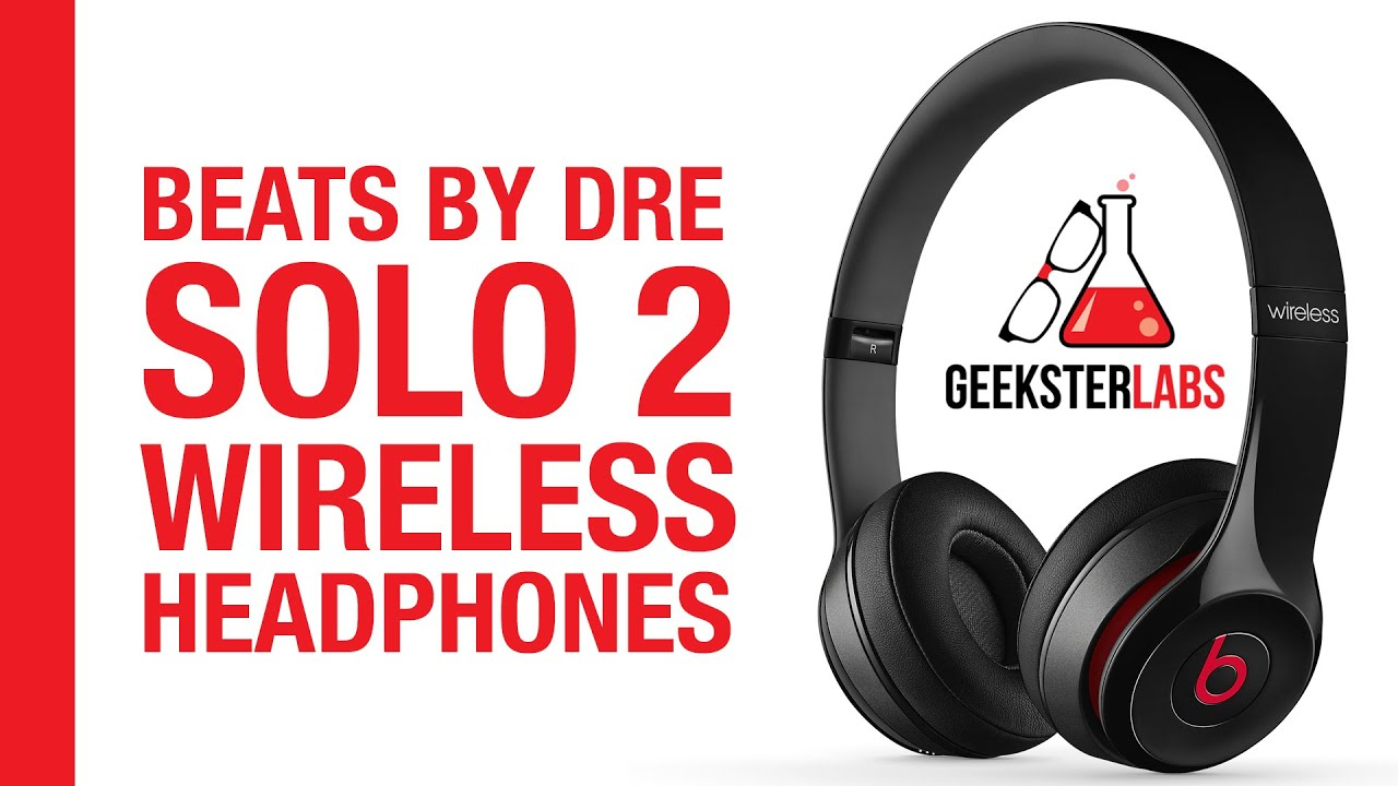 Beats By Dre Solo 2 Wireless Bluetooth On-Ear Headphones