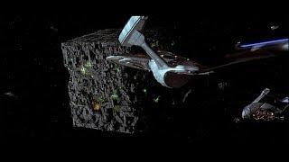 エンタープライズE VS ボーグキューブ Star Trek: FIRST CONTACT スタートレック