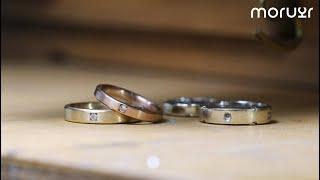 다이아몬드 리세팅으로 새롭게 만든 웨딩밴드  | How…