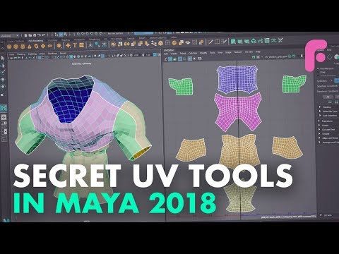uv-tools-you-didn't-know-in-maya-2018