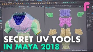 UV Tools You Didn't Know in Maya 2018
