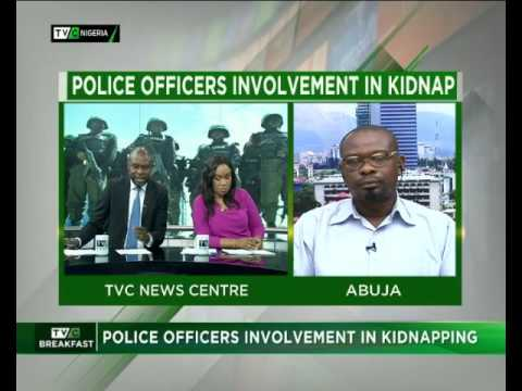 Police officers involvement in kidnapping