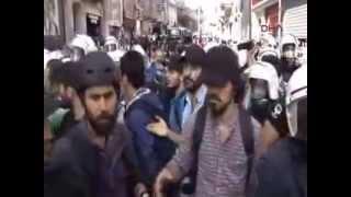 taksim polis mudahalesi 31-05-2014