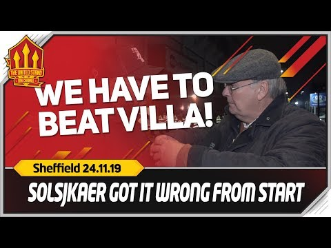 OLE GOT IT WRONG! Sheffield United 3-3 Manchester United FanCam