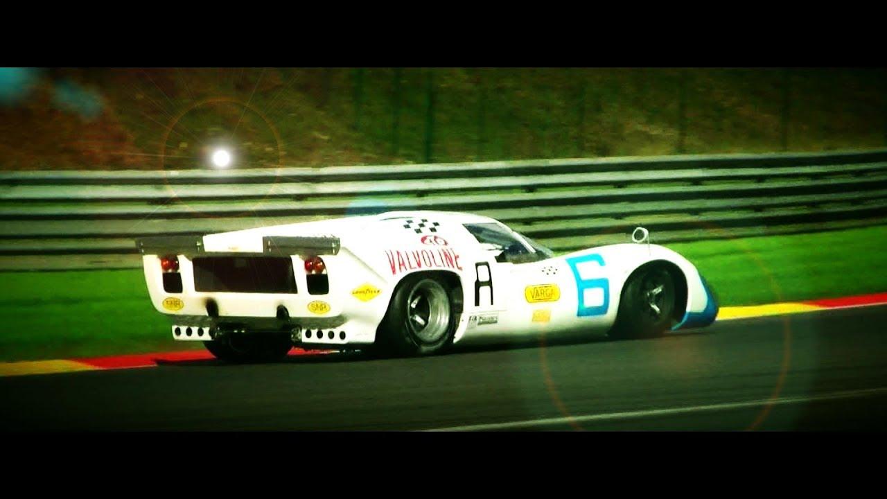 FIA Masters Historic Sports Cars on Spa : Ferrari 512M, Lola T70 ...