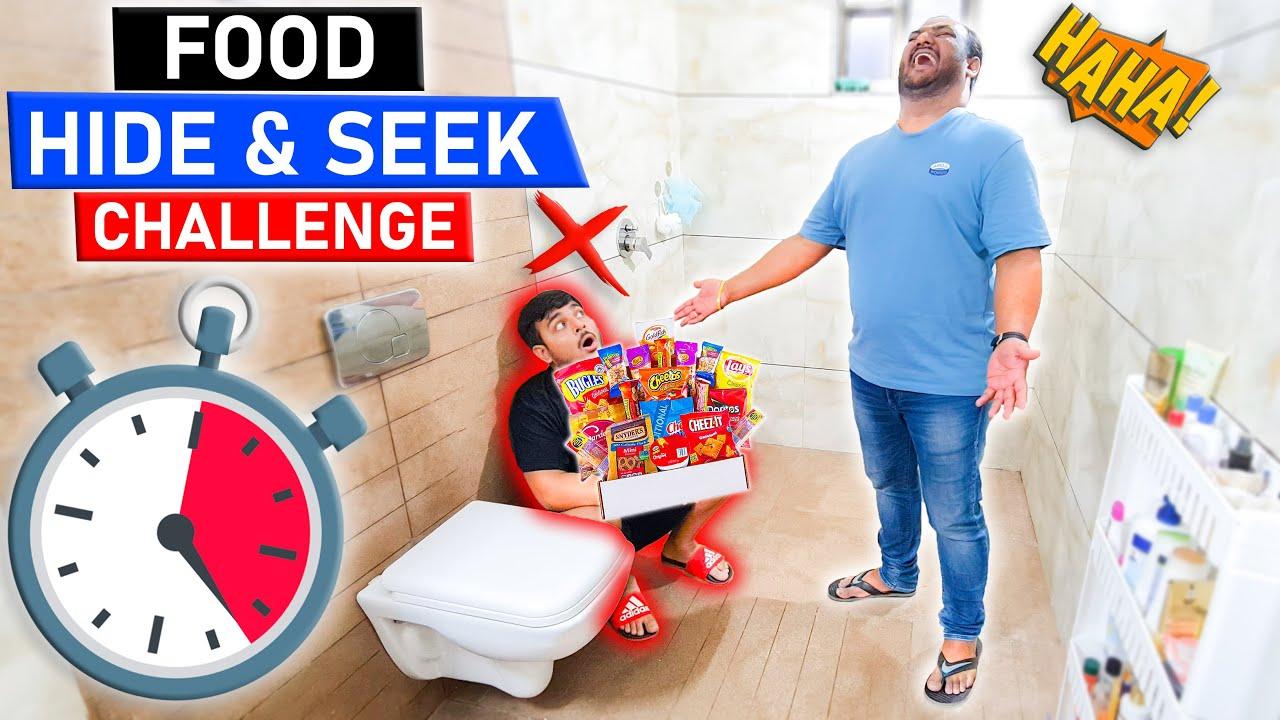 FOOD HIDE & SEEK CHALLENGE | Food Eating Competition | Fast Food Challenge | Viwa Food World