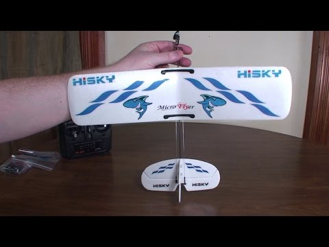 Hisky - Buzz Micro Flyer (HFW400) - Review and Flight