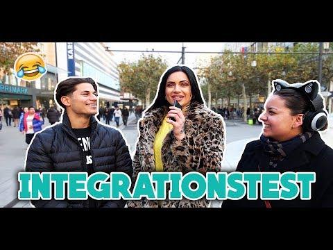 INTEGRATIONSTEST IN FRANKFURT 😂 (LACHFLASH PUR) l Yavi TV