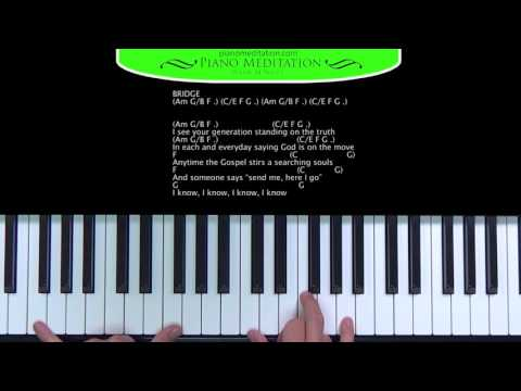 God is on the Move (7eventh Time Down) - How to Play on the Piano