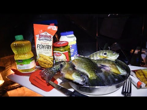 Minnesota Panfish Catch and Cook on The Ice!!!