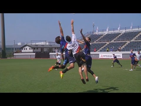 USA vs Germany - 2012 World Ultimate Championships - Men's Pool Play