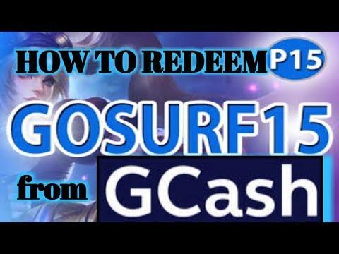 GCASH #GCASHPROMO #GCASHGOSURF15 [ HOW TO REDEEM