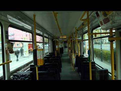 Straßenbahn Berlin: Mitfahrt Kt4Dt 7058 als Linie 50 U ...