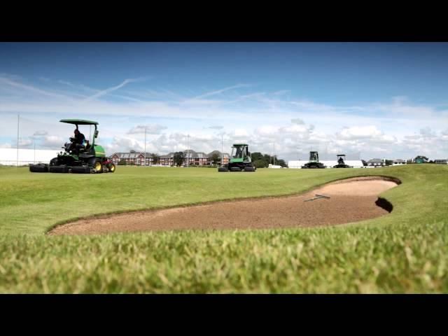 John Deere at the The Open 2012